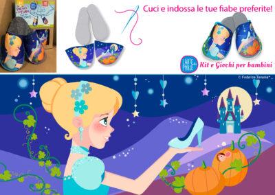 Two feet in a Fairy Cenerentola