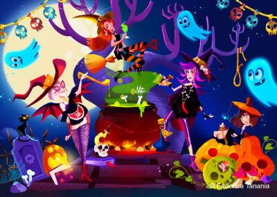 Witchs halloween